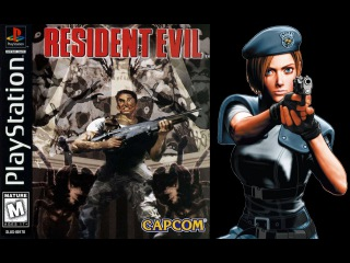 Resident Evil (PlayStation) - (Longplay - Jill Valentine | Best Ending Path)
