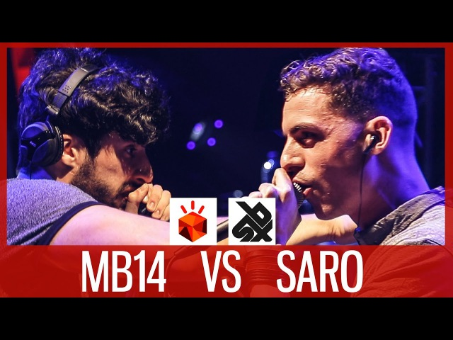 MB14 vs SARO Grand Beatbox LOOPSTATION Battle 2017 SEMI FINAL