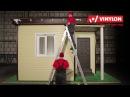 Установка водосточной системы VINYLON на дом, отделанный сайдингом - Водосток монта