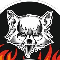 Логотип Вредный Енот - нескучный магазин