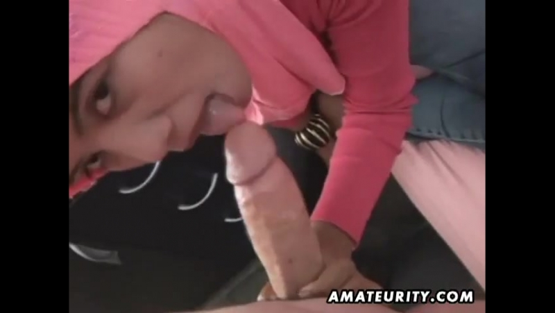Arab amateurs blowjob and fuck,