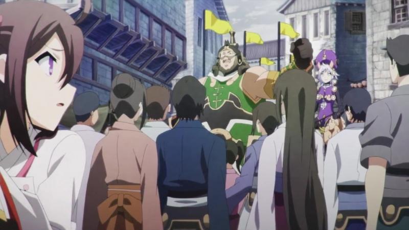Драконий хаос Война красного дракона 1 серия Red Dragon War 1 серия Chaos Dragon Sekiryuu Seneki 1 серия Русс озву
