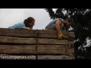 Log cabin simplicity: recrafting pioneer tiny homes in corn Iowa