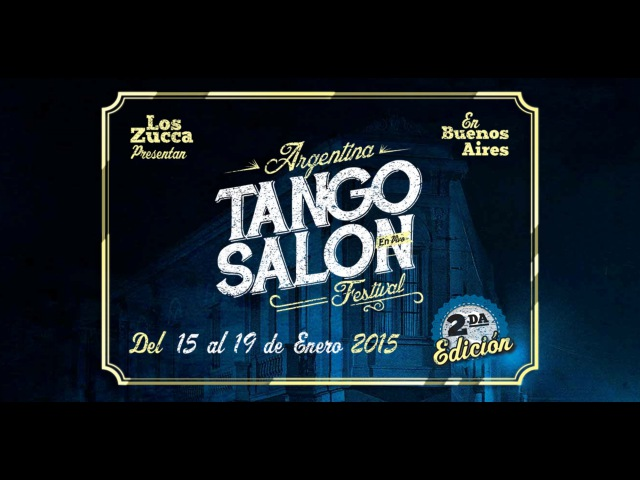 Sabrina and Ruben Veliz 2 Tango Salon Festival 2015