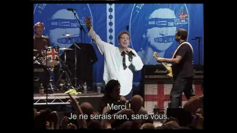 Sex pistols God save the queen HQ live 2007