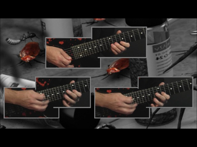 3_Ron Jarzombek - 'Ingesting Blattaria' - all guitar parts