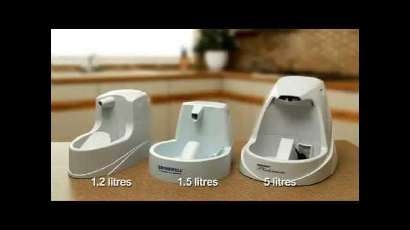 Drinkwell Pet Fountains Автопоилки фонтаны для собак и кошек компании PetSafe