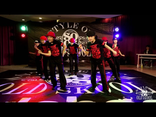 Showcase【THE LOCKSTeR GAMES】  20150425 Style Of Old Skool Taiwan Vol.3