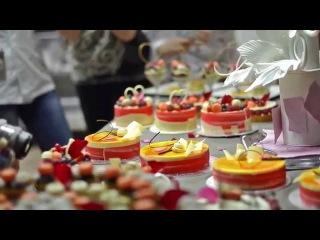 PATRICK CASULA Pastry Class in Vilnius, Kiev International Culinary Academy