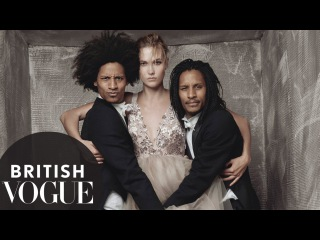 Karlie Kloss vs Les Twins : Dance Off With Beyonce's Backup Dancers   British Vogue