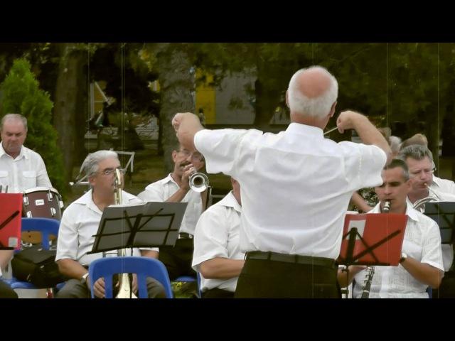 В городском саду играет духовой оркестр вальс Духовой оркестр Анапы Дирижер Валерий Степанов
