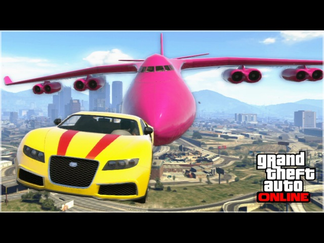 AWESOME GTA 5 STUNTS FAILS Funny Moments Compilation
