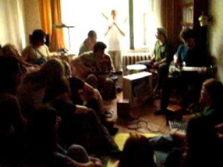 Mini-concert Dartz in a Kiev flat