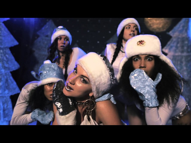 HAPPY NEW YEAR choreo by SOMIQUE Christmas Again Riddim and sexy Snowqueens