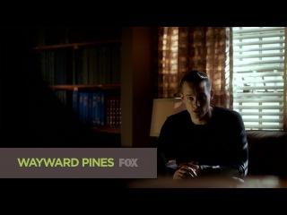 Седьмой сник-пик четвёртой серии второго сезона сериала Wayward Pines (Уэйуорд Пайнс / Сосны)