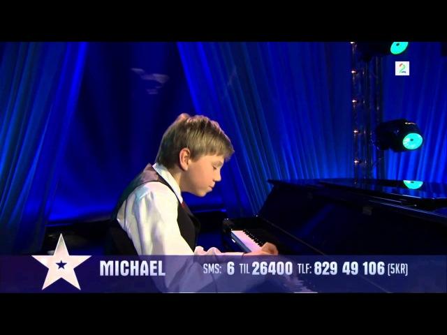 Michael Haug playing U N Owen Was Her in Norweigan Talent Show
