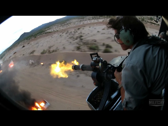 Gatling Guns on Land and in the Air TRIGGERS