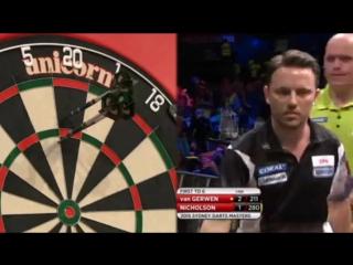 Michael van Gerwen vs Paul Nicholson (Sydney Darts Masters 2015 / Round 1)