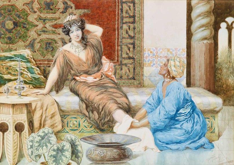"""Giuseppe Aureli (1858-1929), """"Восхищение"""" (""""Admiration"""")"""