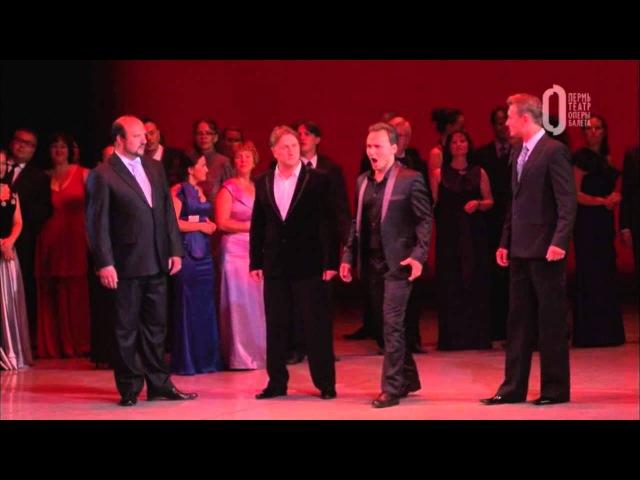 Scene from La Traviata. Alfredo-Boris Rudak.