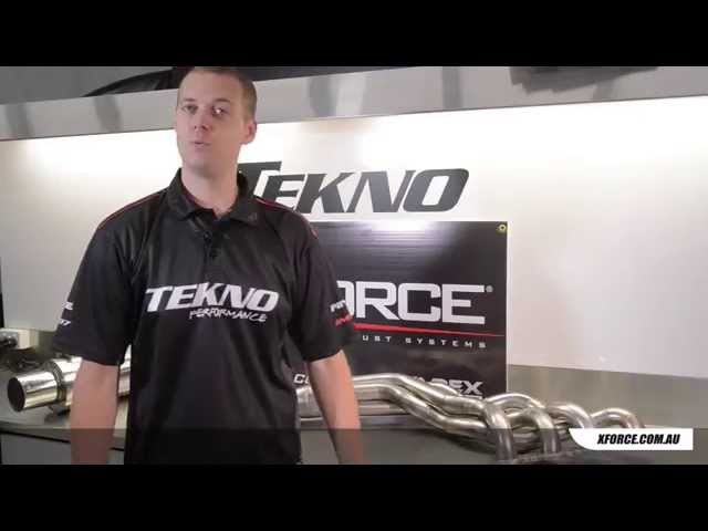 Tekno reviews Xforce VAREX exhaust system