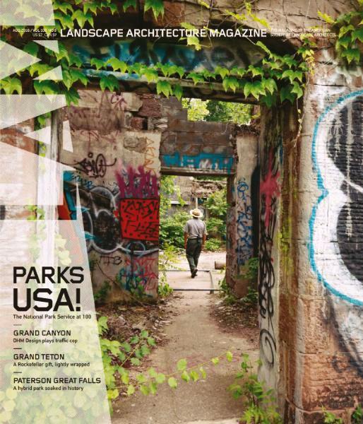 Landscape Architecture Magazine - August 2016
