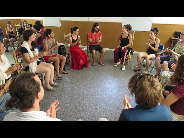 Fundación Cristina Heeren. Curso Flamenco Verano 2016. Clase de Compás con Manuela Barrios