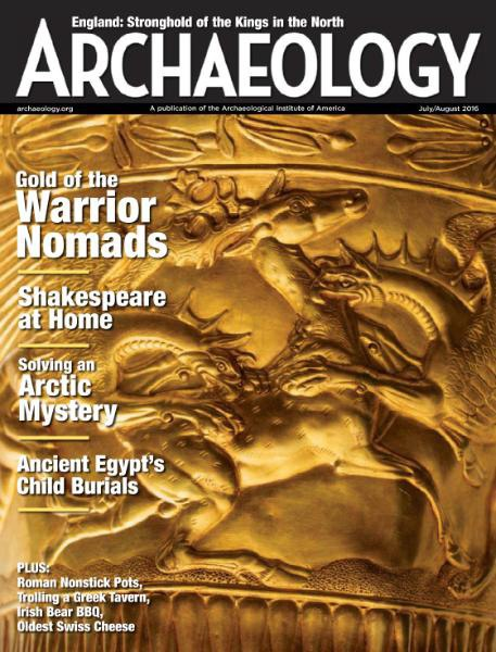 Archaeology Magazine - July-August 2016