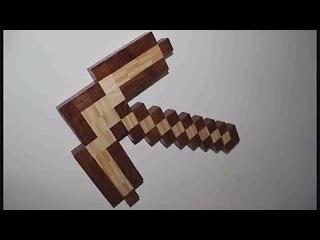 Майнкрафт как сделать кирку из дерева