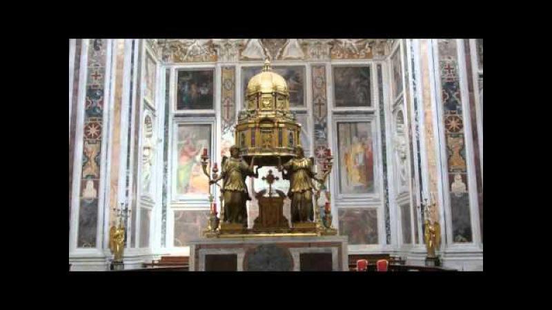Roma Basilica di Santa Maria Maggiore 3 5 INTEGRALE interno ed esterno
