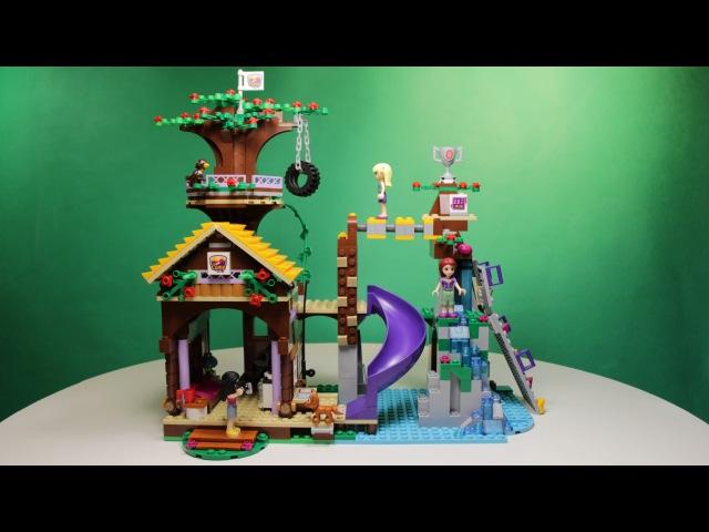 Lego Freinds Adventure Camp Tree House 41122 Лего Френдс Спортивный Лагерь Дом На Дереве