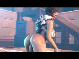 Overwatch tracer and widowmaker 3d sex porno collection
