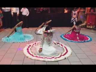 Bollywood dance performance at Saagar & Manisha's Indian wedding reception   2016