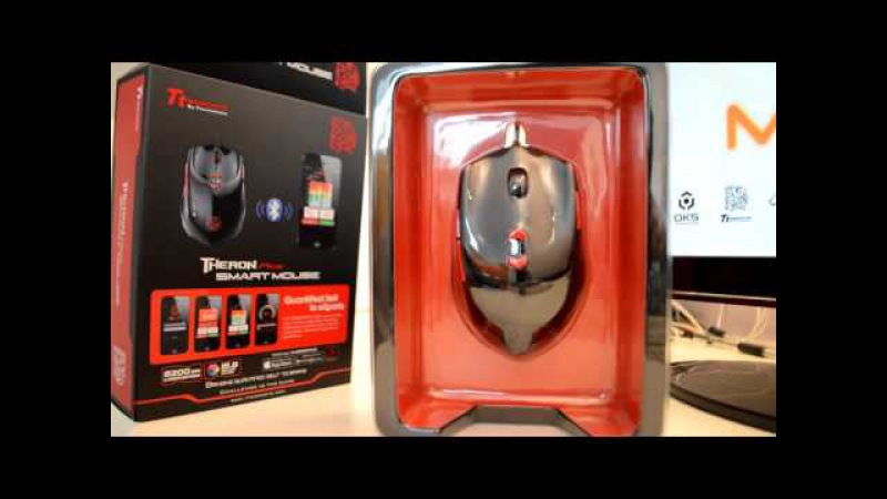 TteSPORTS THERON PLUS SMart Mouse unboxing By Team MnM