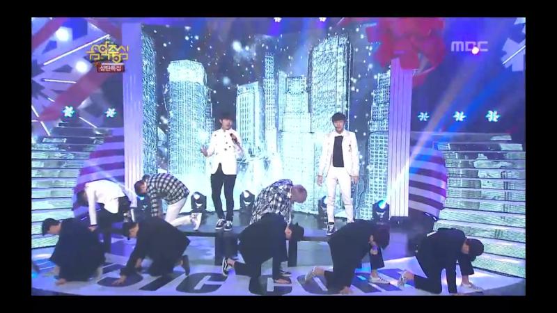 Предебют Чжиан B1A4 Tried To Walk 비원에이포 걸어 본다 Music Core 20121222