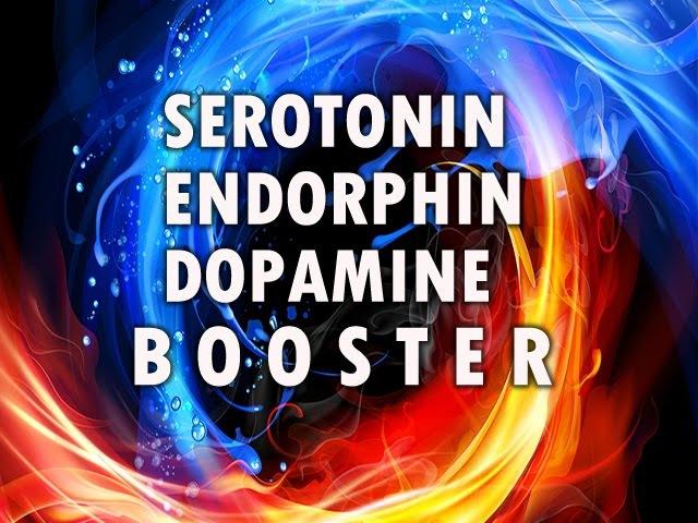 Beta Endorphins Serotonin Dopamine Boosters with Isochronic Tones