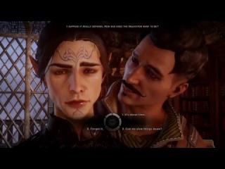 Dragon Age Inquisition - Dorian Romance (Bedroom Scene)