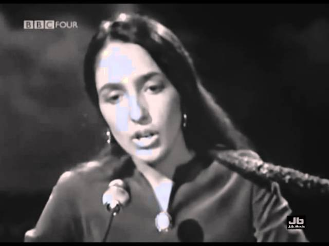 Joan Baez We Shall Overcome BBC Television Theatre London June 5 1965