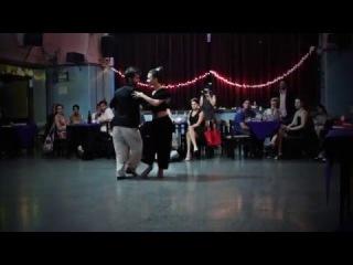 Cecilia García y Serkan Gokcesu en LA BRUJA (6-2-2016) 3/3