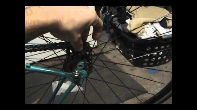 How to remove install a fixie cog without a chainwhip rotafix