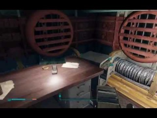 Fallout 4 Secret Vault 81 Hole in the Wall and Medicine Bobblehead (Secret Companion Curie)