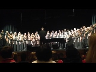 Christamas concert in HTHS. I took part in it=)