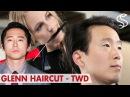 Steven Yeun Hairstyle ★ Glenn The Walking Dead ★ Men's hair