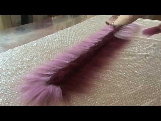 Валяние шарфа с воланом. Видео мастер класс. Как свалять шарф с воланом. Felting a scarf.