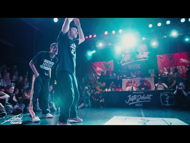 JUSTE DEBOUT NORDIC 2017 HOUSE FINAL Odd Sweet Raza VS Aru Kevin Kev