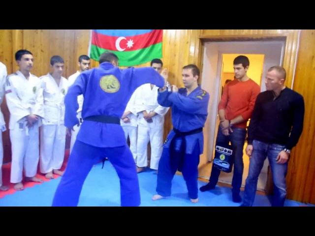 AĞ CANAVAR Azərbaycan Real Aykido Idman Klubunda (II hissə)