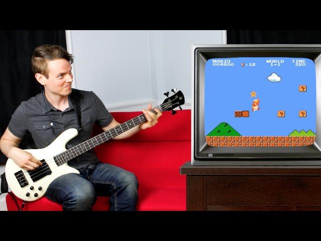 Bass Guitar Super Mario!!