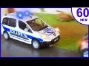 Полицейская машина, Пожарная машина МУЛЬТИКИ ПРО МАШИНКИ - Все серии подряд Сборник 60 Минут