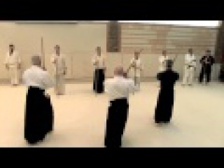 Traditional Jodo with Daniel Pearson Summer 2014 part 4