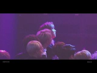 HD Fancam 170119 BTS Reaction to BLACKPINK Jungkook focus @ Seoul Music Awards